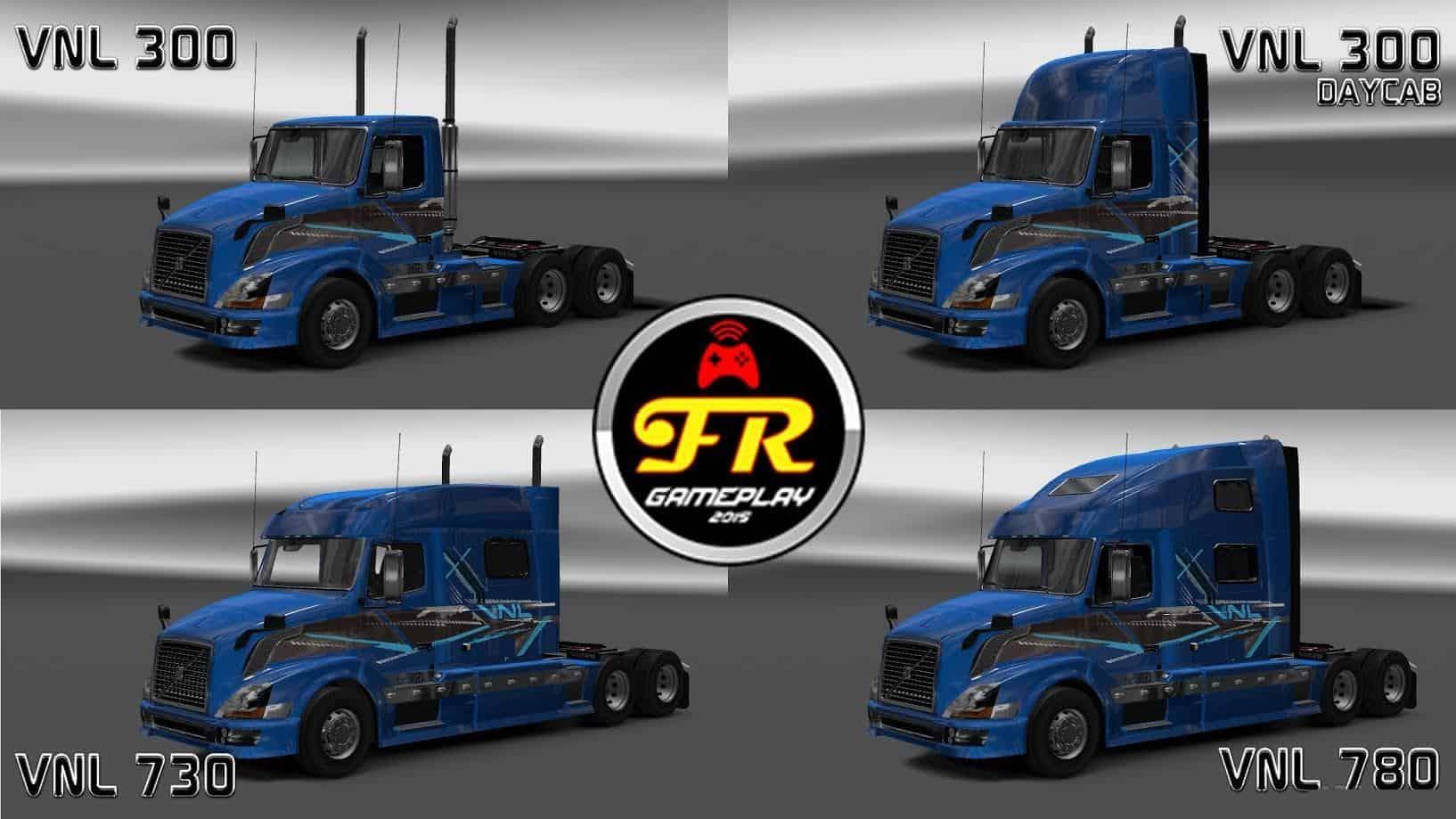 Volvo Vnl Accessories >> VOLVO VNL 780 TRUCK SHOP V3.0 [ATS] 1.6.X BY FRANK BRASIL MOD - American Truck Simulator mod ...