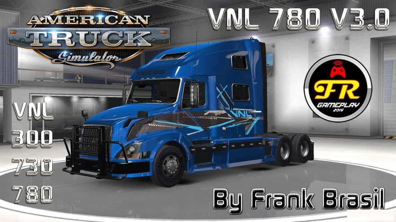 VOLVO VNL 780 TRUCK SHOP V3.0 [ATS] 1.6.X BY FRANK BRASIL ...