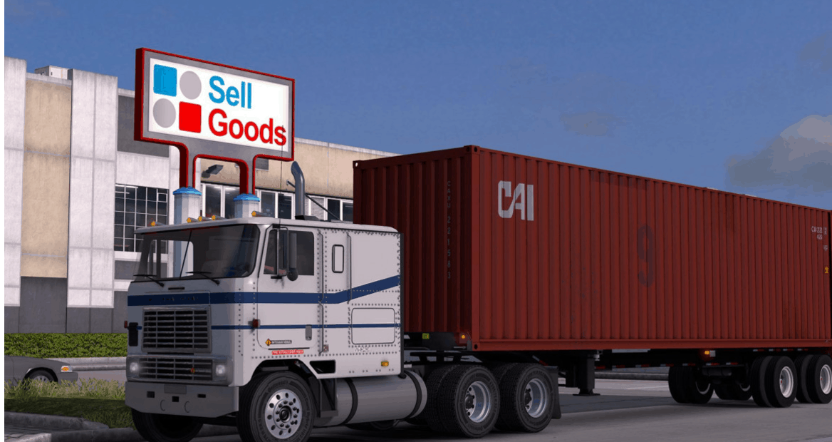 International 9800 Ats American Truck Simulator Mod