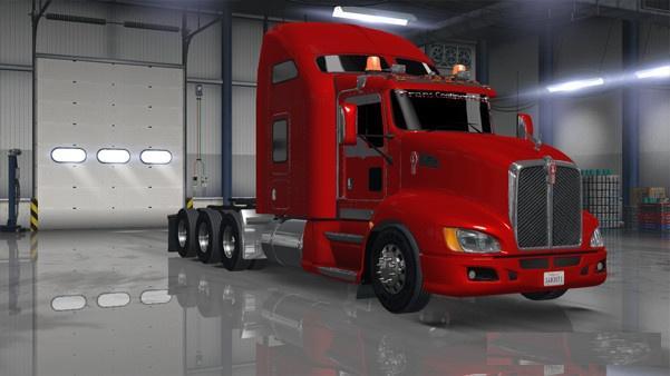 KENWORTH T660 1 6 X TRUCK - American Truck Simulator mod   ATS mod