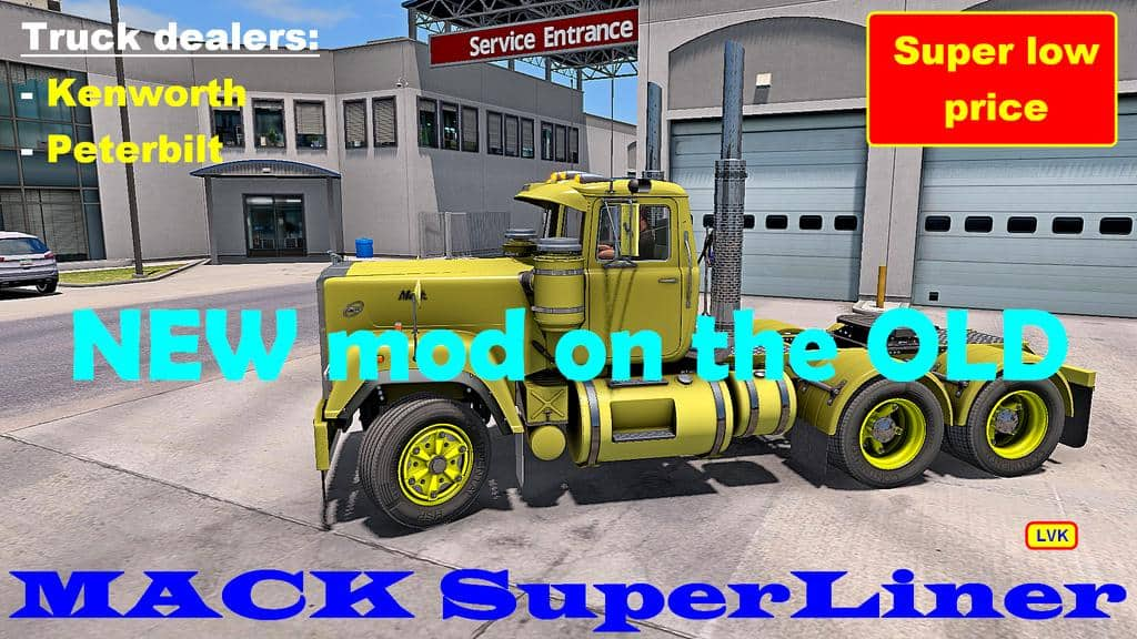 MACK SUPERLINER V3 6 EDIT BY BOBO58 (V1 6 X) ATS - American