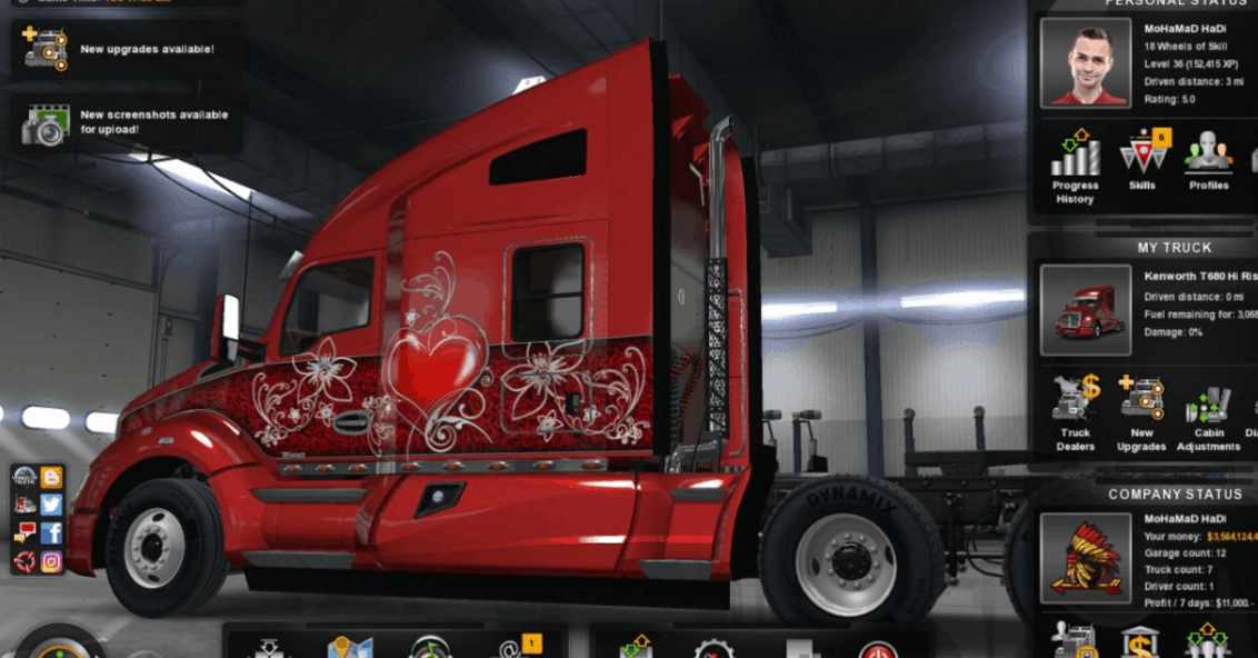 xp - american truck simulator mods   ats mods