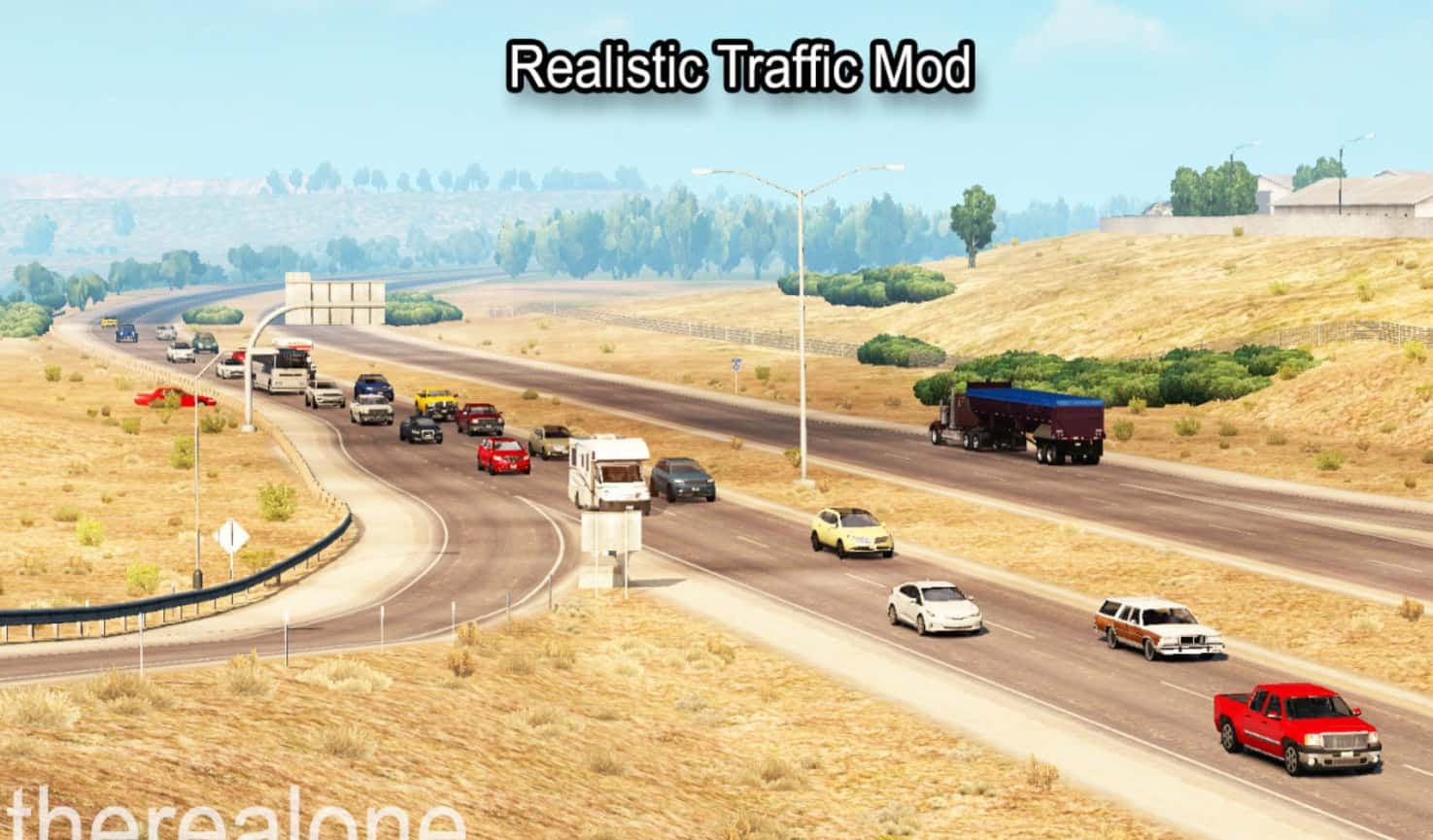 Realistic Traffic Mod v2 1 [1 6 1 x] for ATS - American