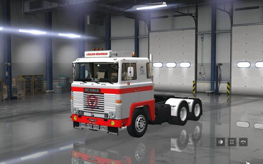 Scania 1 Series V2 0 For 1 6 X Ats American Truck