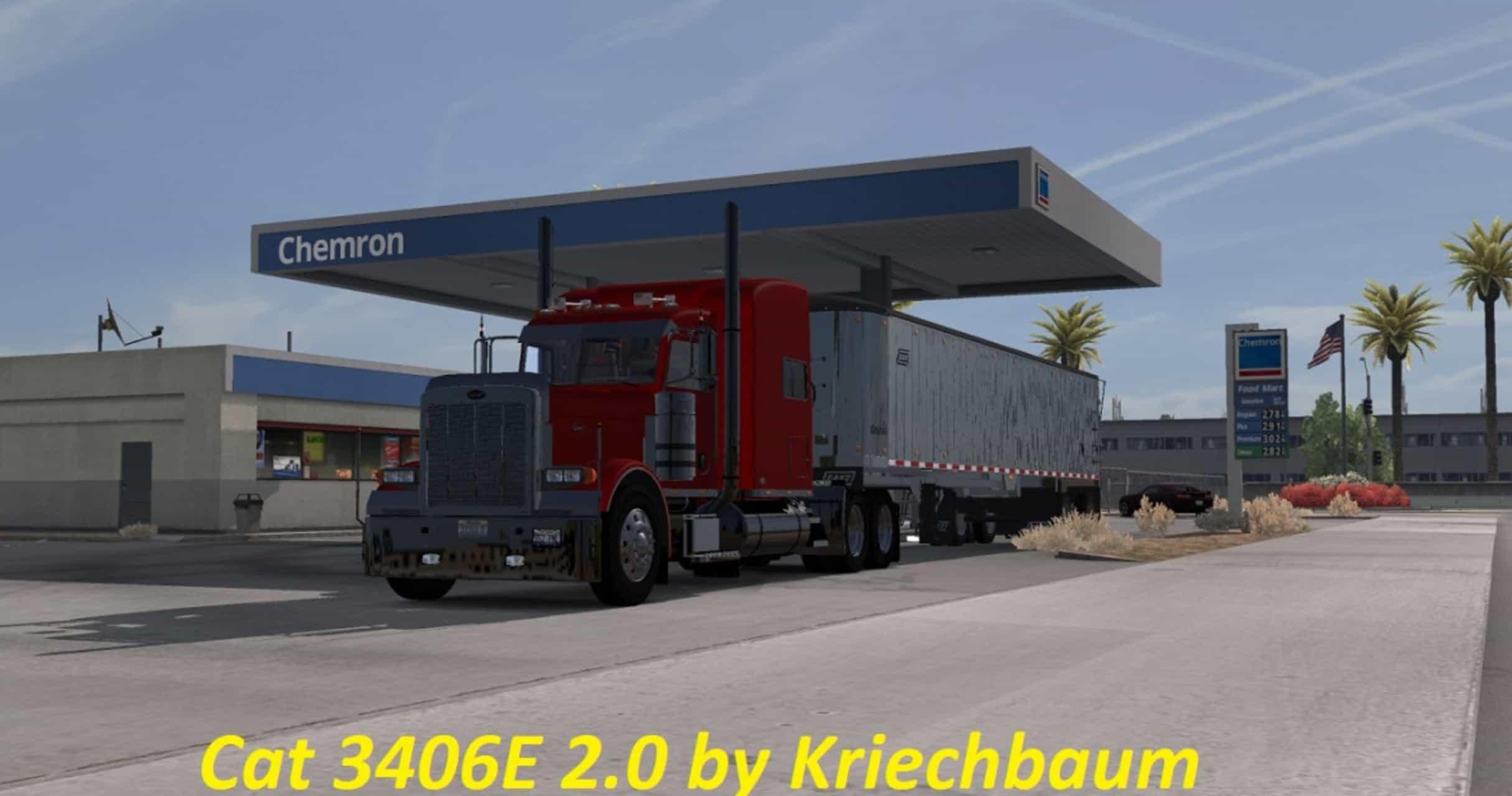 Cat 3406E 2 0 Mod - American Truck Simulator mod | ATS mod