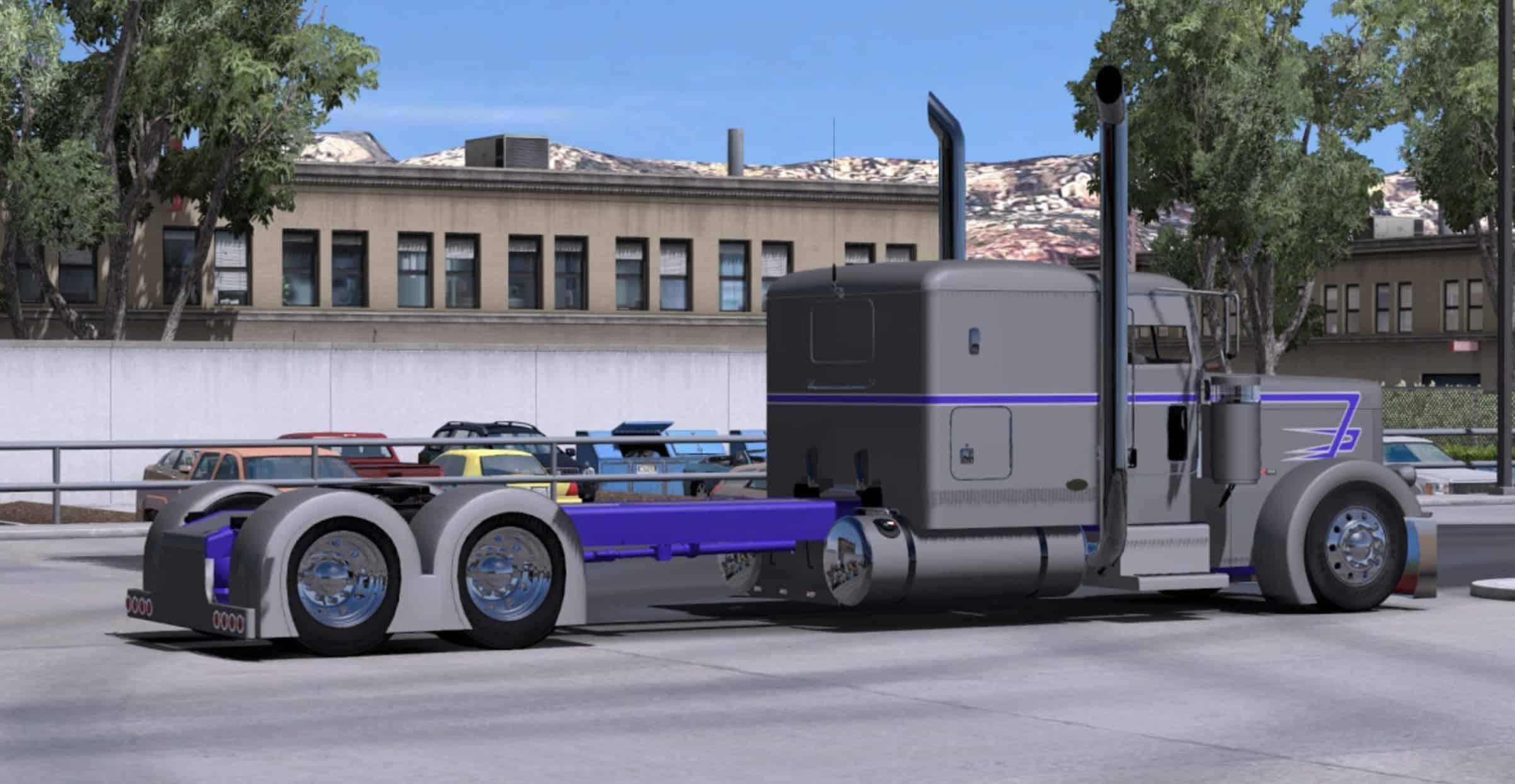 Peterbilt Custom Rig Skin Mod 2 American Truck Simulator Mod