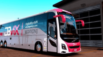 Volvo 9800 ATS - American Truck Simulator mod | ATS mod