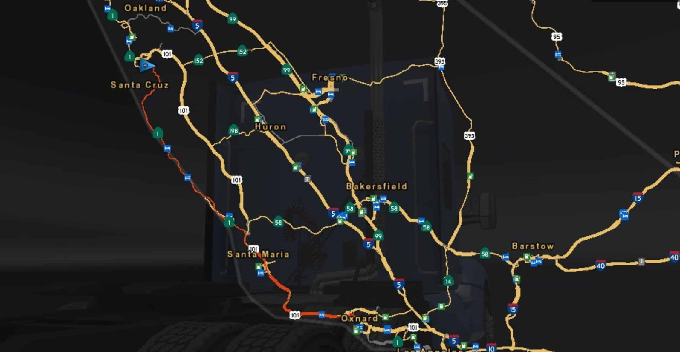 Open California's Highway 1 Mod - American Truck Simulator
