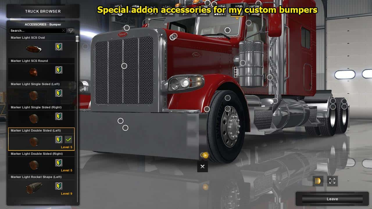 Peterbilt 389 Accessories Pack 1 29 Ats American Truck