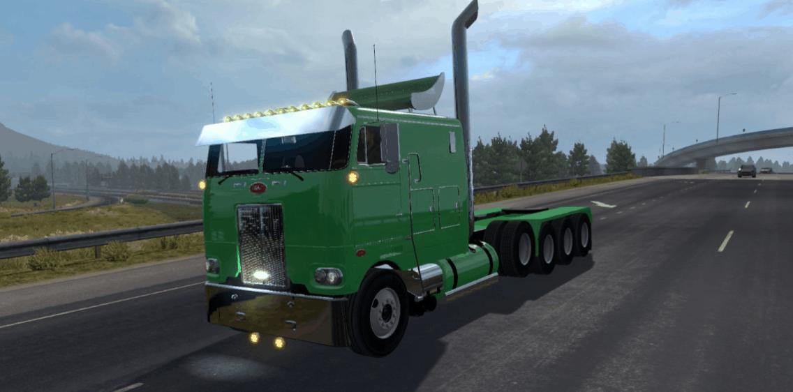 Peterbilt 352 Cabover V 3 0 ATS - American Truck Simulator mod   ATS mod