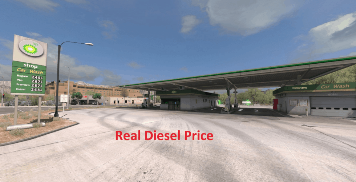Real Diesel Prices ProMods 2 25 & RusMap 1 7 5 ATS - American Truck