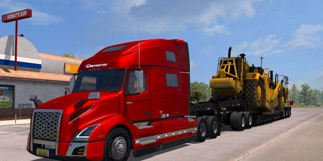 volvo vnl 2018 fs17 american truck simulator mod. Black Bedroom Furniture Sets. Home Design Ideas
