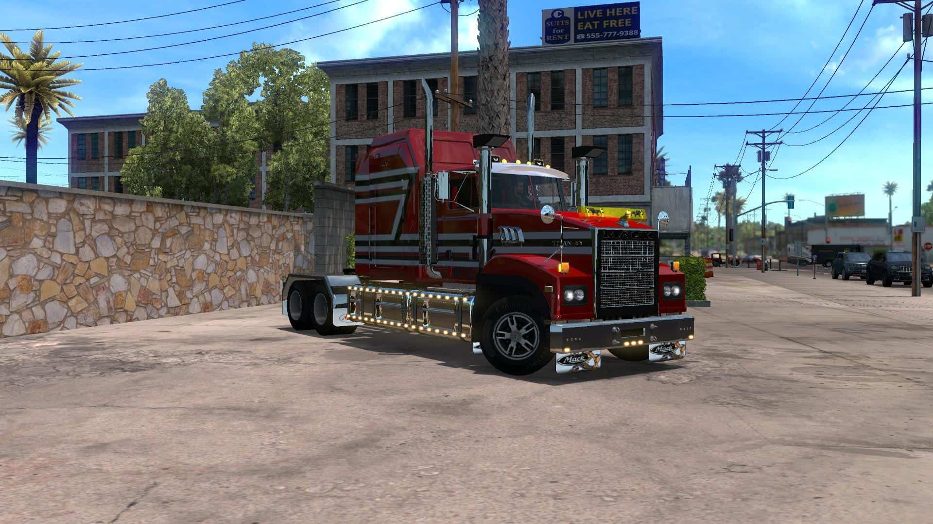 mack titan new v3 6 ats american truck. Black Bedroom Furniture Sets. Home Design Ideas