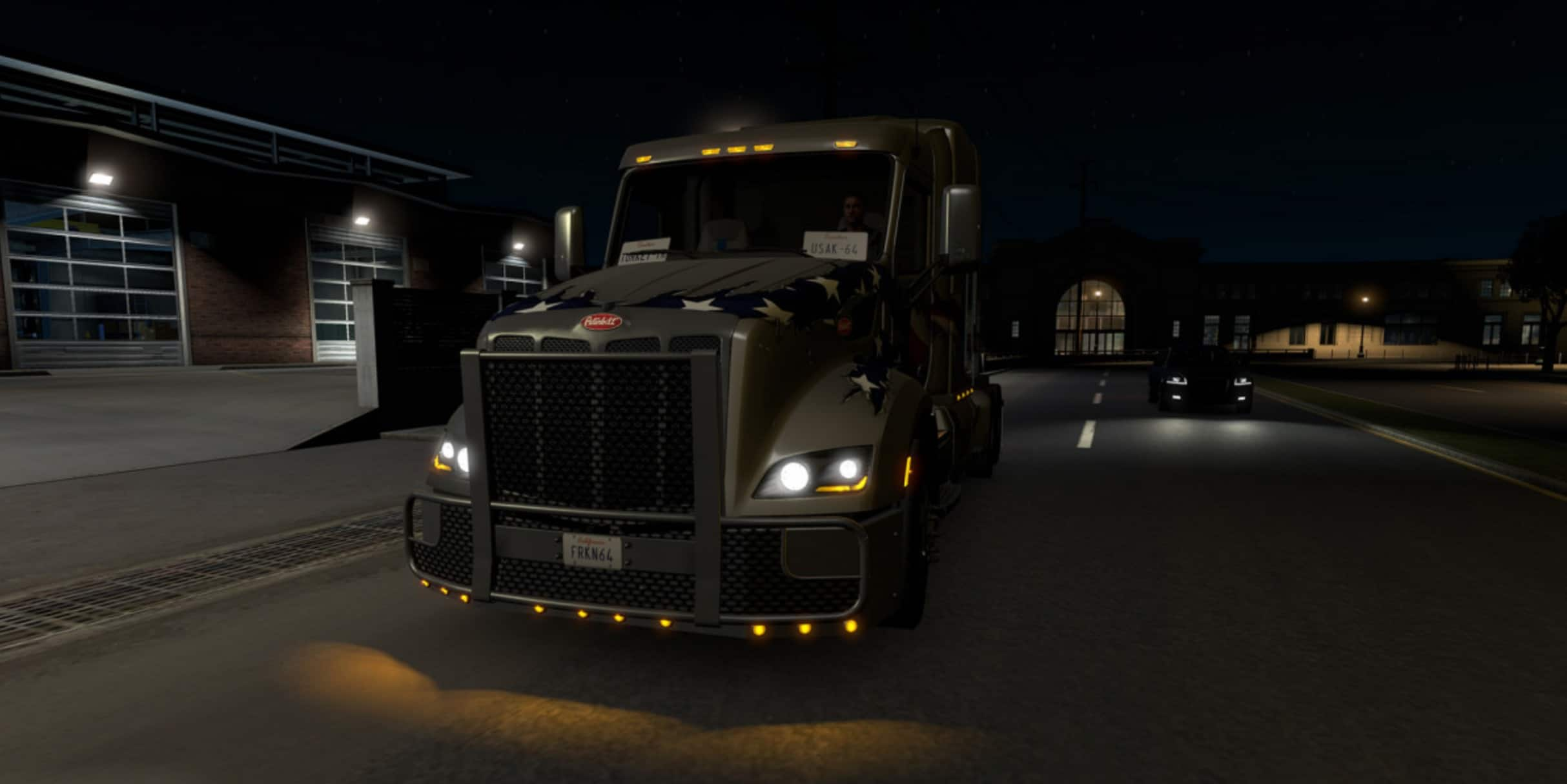 Non-Flared Vehicle Lights v1 0 Mod - American Truck