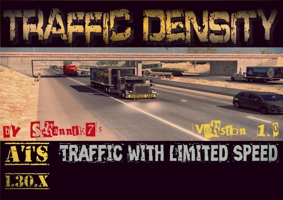 Traffic Density v 1 0 [1 30 x] ATS - American Truck