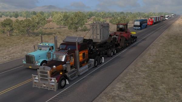 ATS Doubles/Triples/Heavy Trailers in Traffic Mod - American