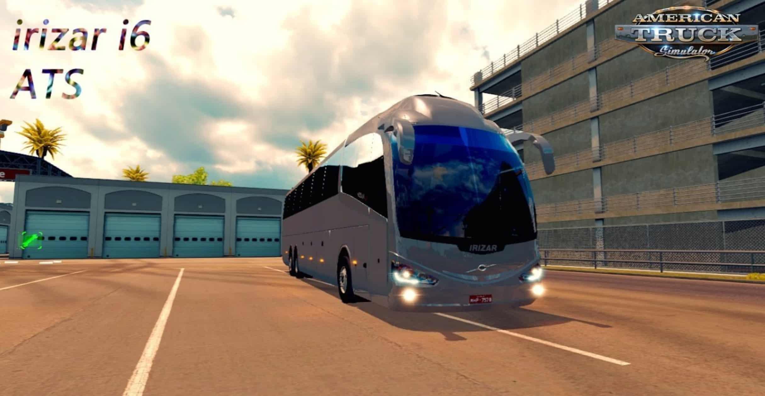 Onibus Volvo Irizar I6 6×2 Bus v1 6 (1 30 x) ATS - American