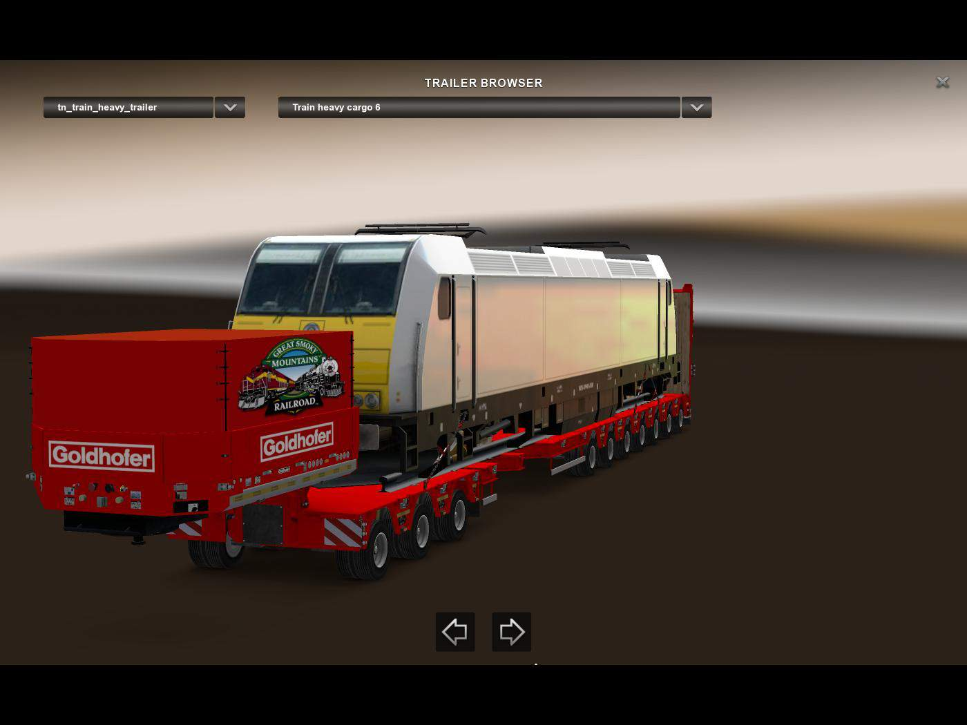 HEAVY TRAIN TRAILER PACK V1 01 MOD - American Truck