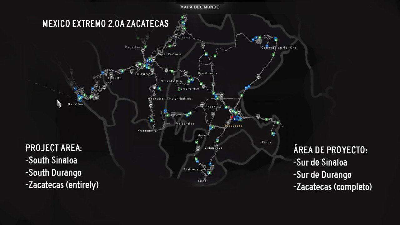 VIVA MEXICO MAP v244 new update