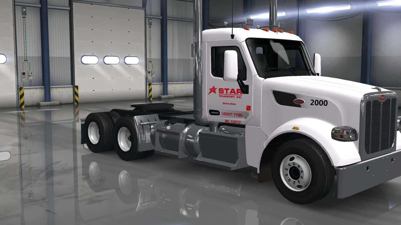 Star Transport Inc Skin For Gtm S Peterbilt 567 V1 0 Ats American Truck Simulator Mod Ats Mod