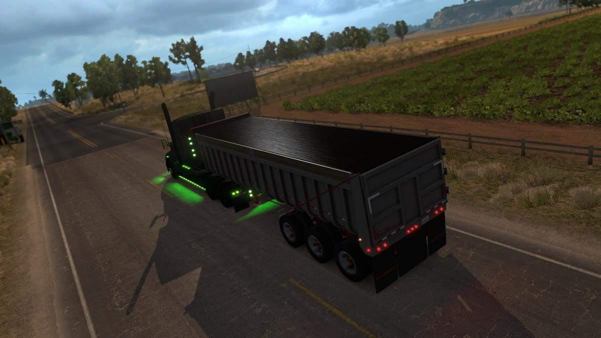 Truck Trailer Hitch >> TRAILER FRUEHAUF DUMP V1.0.2 1.31.X ATS - American Truck Simulator mod | ATS mod