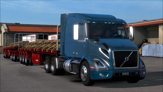 volvo vnr 2018 mod american truck simulator mod. Black Bedroom Furniture Sets. Home Design Ideas