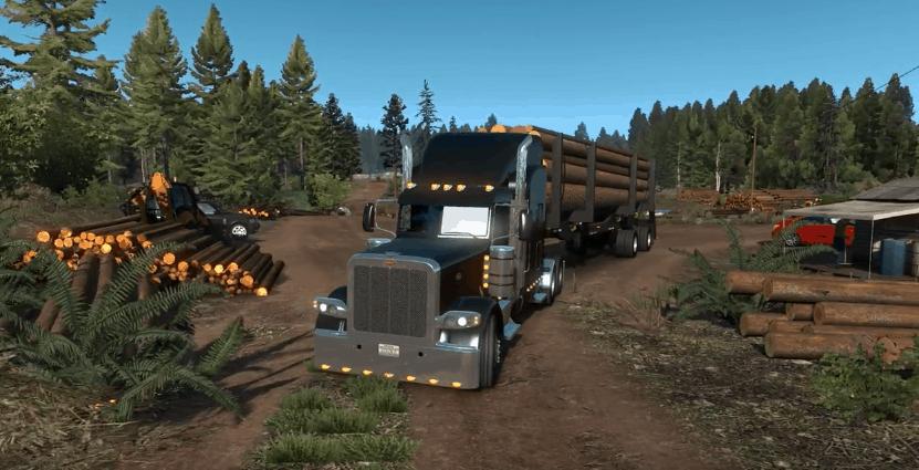 oregon video coverage ats american truck simulator mod. Black Bedroom Furniture Sets. Home Design Ideas