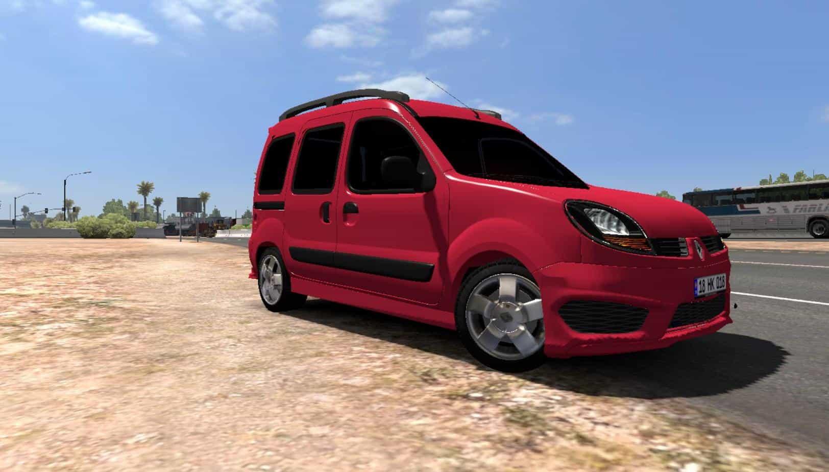 renault kangoo v1 0 ats american truck simulator mod ats mod. Black Bedroom Furniture Sets. Home Design Ideas