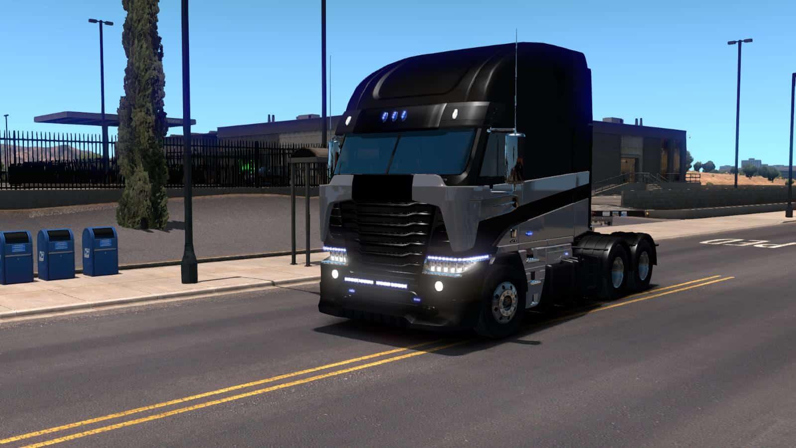 Galvatron TF4 (Freightliner Argosy) Truck (1.31 & UP) ATS ... Freightliner Argosy Galvatron