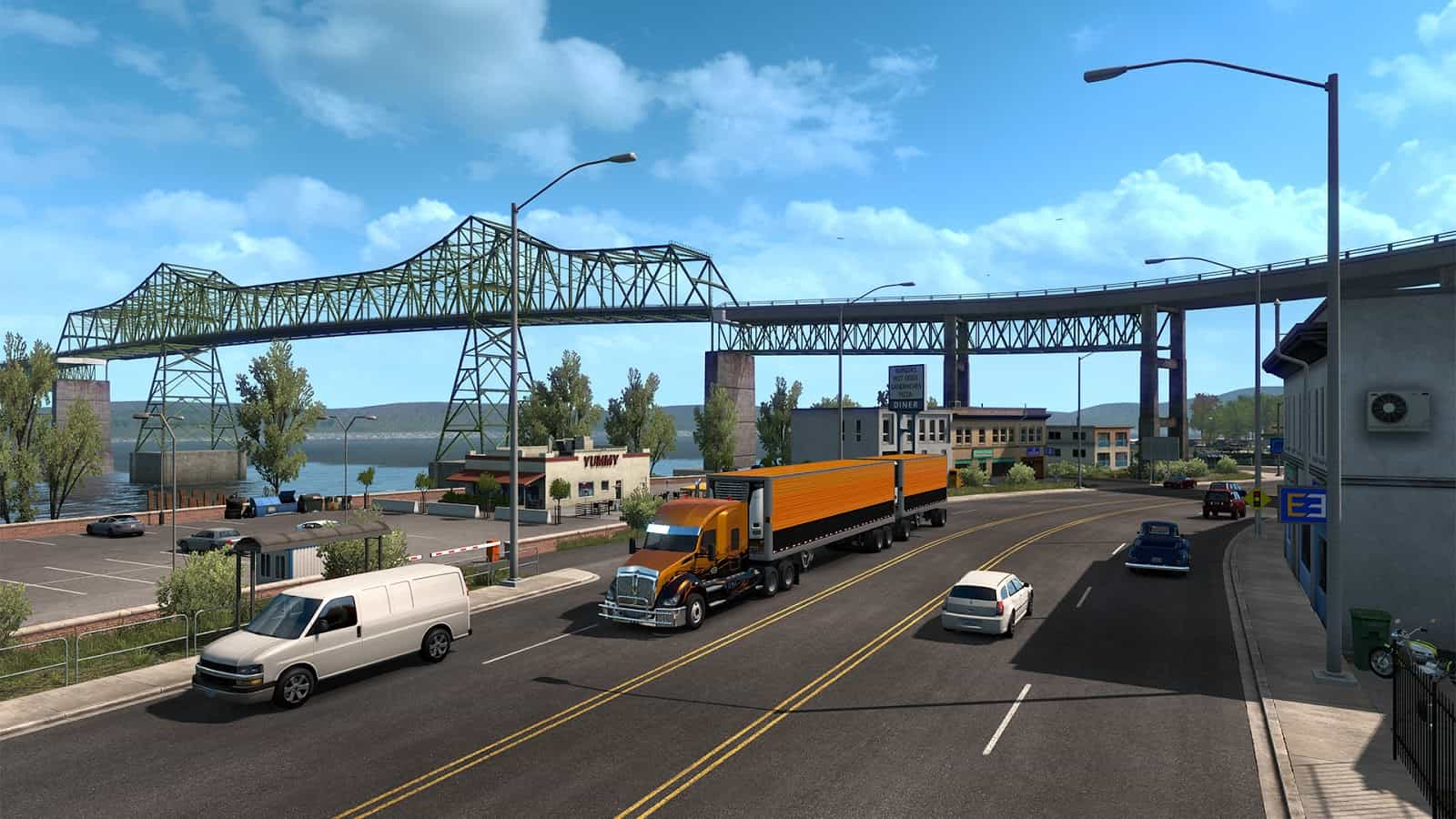 oregon rising ats american truck simulator mod ats mod. Black Bedroom Furniture Sets. Home Design Ideas
