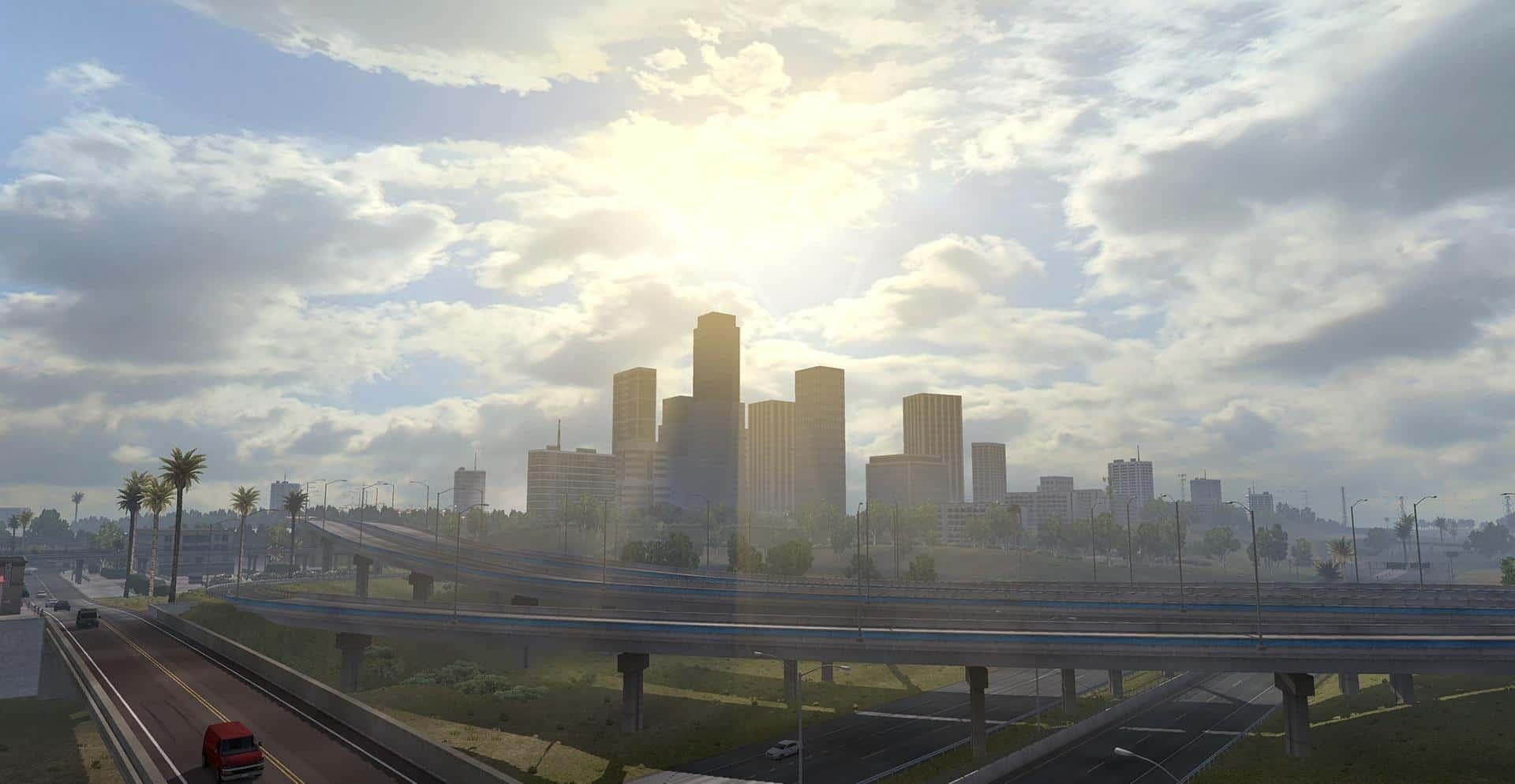 Realistic Graphics Mod v2 2 0 1 32 x ATS - American Truck Simulator