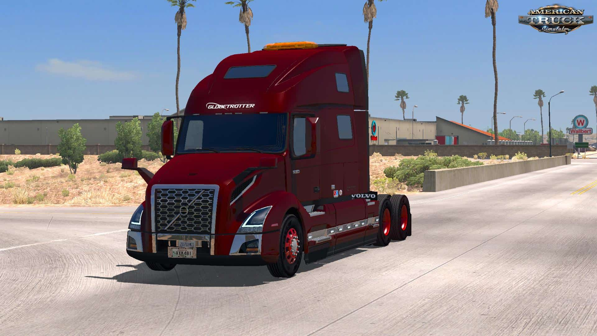 volvo vnl 2018 interior mod american truck. Black Bedroom Furniture Sets. Home Design Ideas