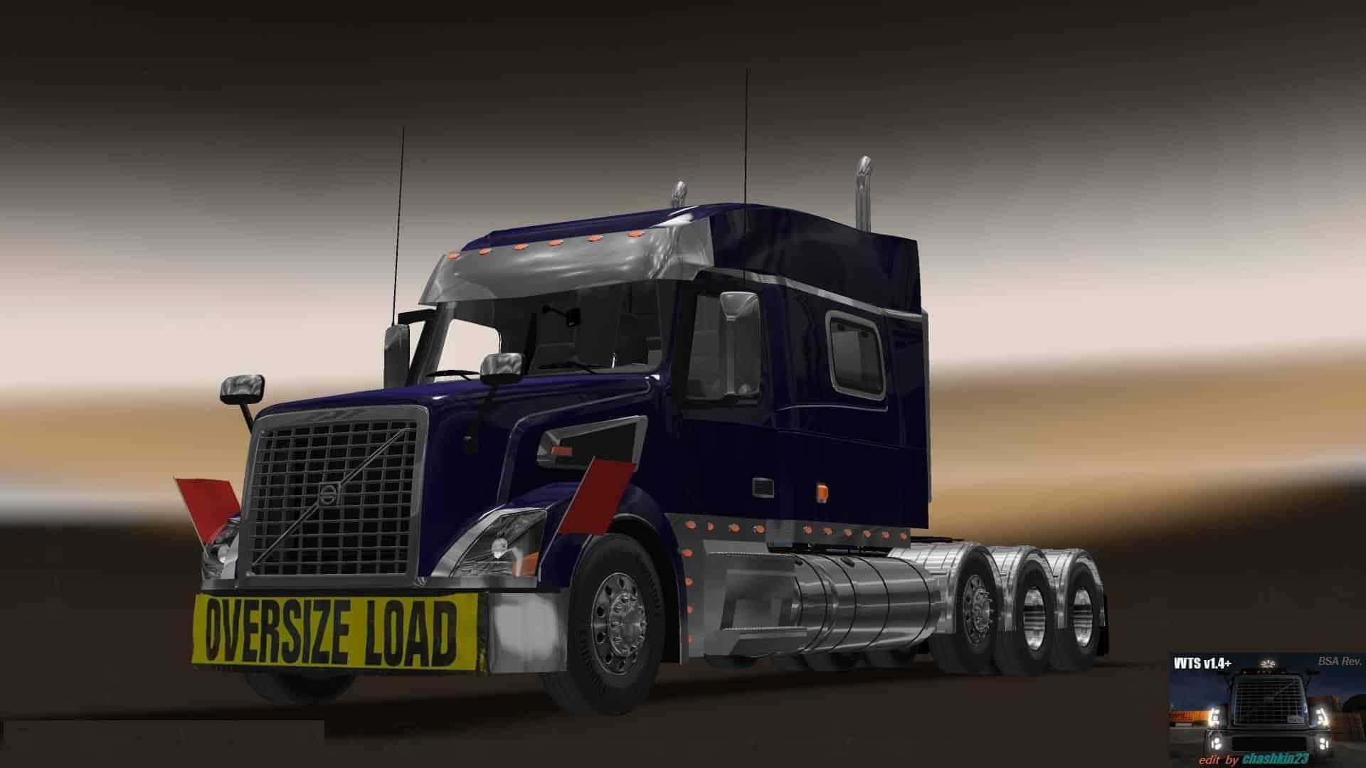 Volvo VNL Truck Shop v1.4+ (BSA Revision) v1.32 ATS - American Truck Simulator mod | ATS mod