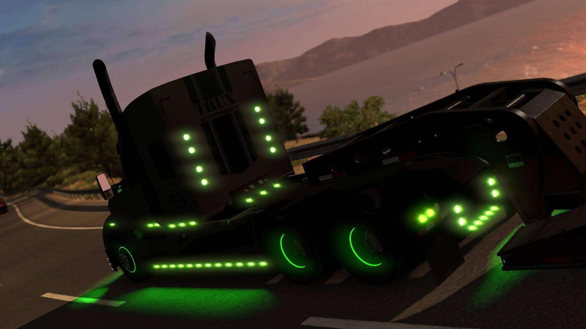 Kenworth T680 For Sale >> Kenworth T680 The General 1.33.x - American Truck Simulator mod | ATS mod
