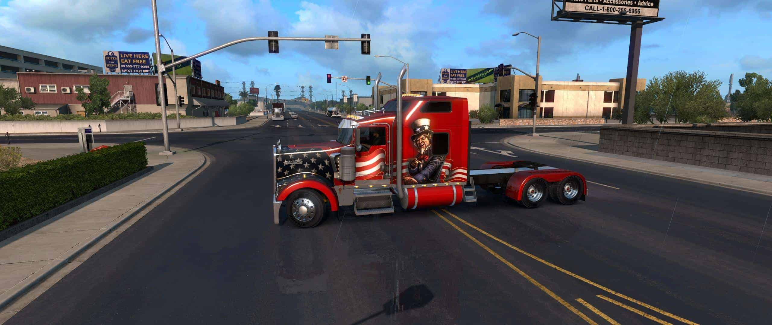 Kenworth W900L Truck by Big Bob v3 2 (1 32+) ATS - American Truck