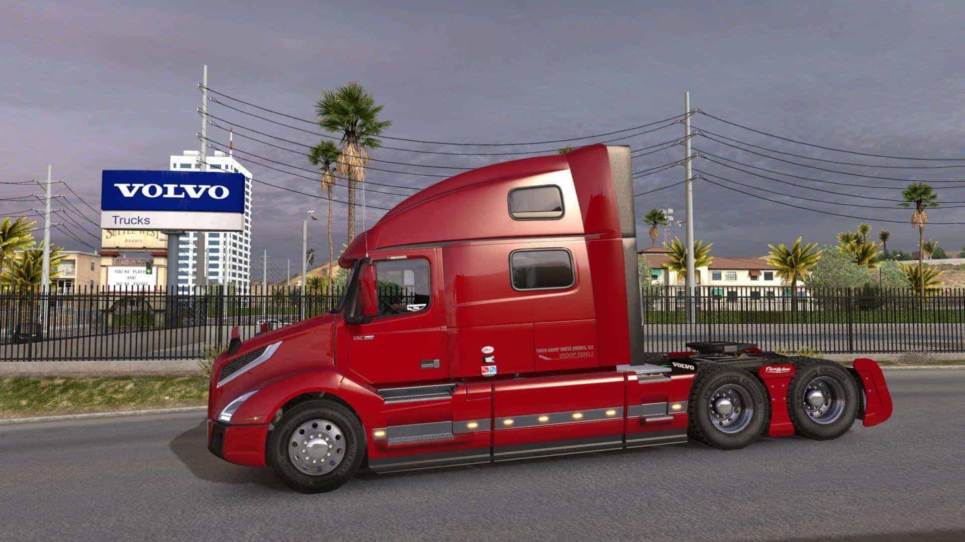 Volvo VNL 2018 Truck v1.18 1.33.x ATS - American Truck ...