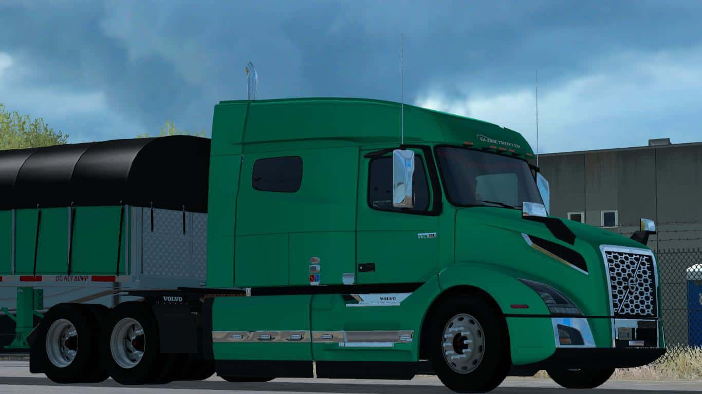volvo vnl 2018 american truck simulator mod. Black Bedroom Furniture Sets. Home Design Ideas