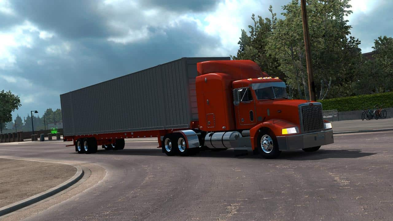 53-Foot Container Ownable 1 33 x Trailer ATS - American Truck