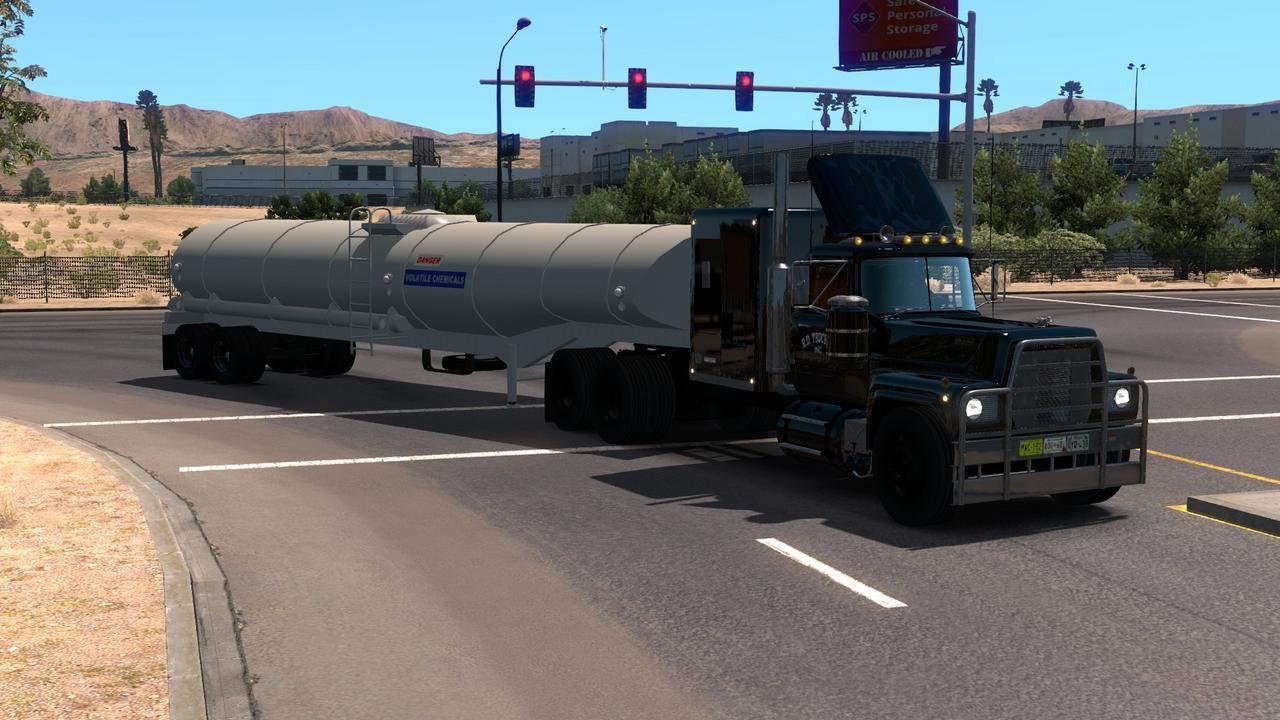 Rubberduck Tanker Ownable 1 34 Trailer ATS - American Truck