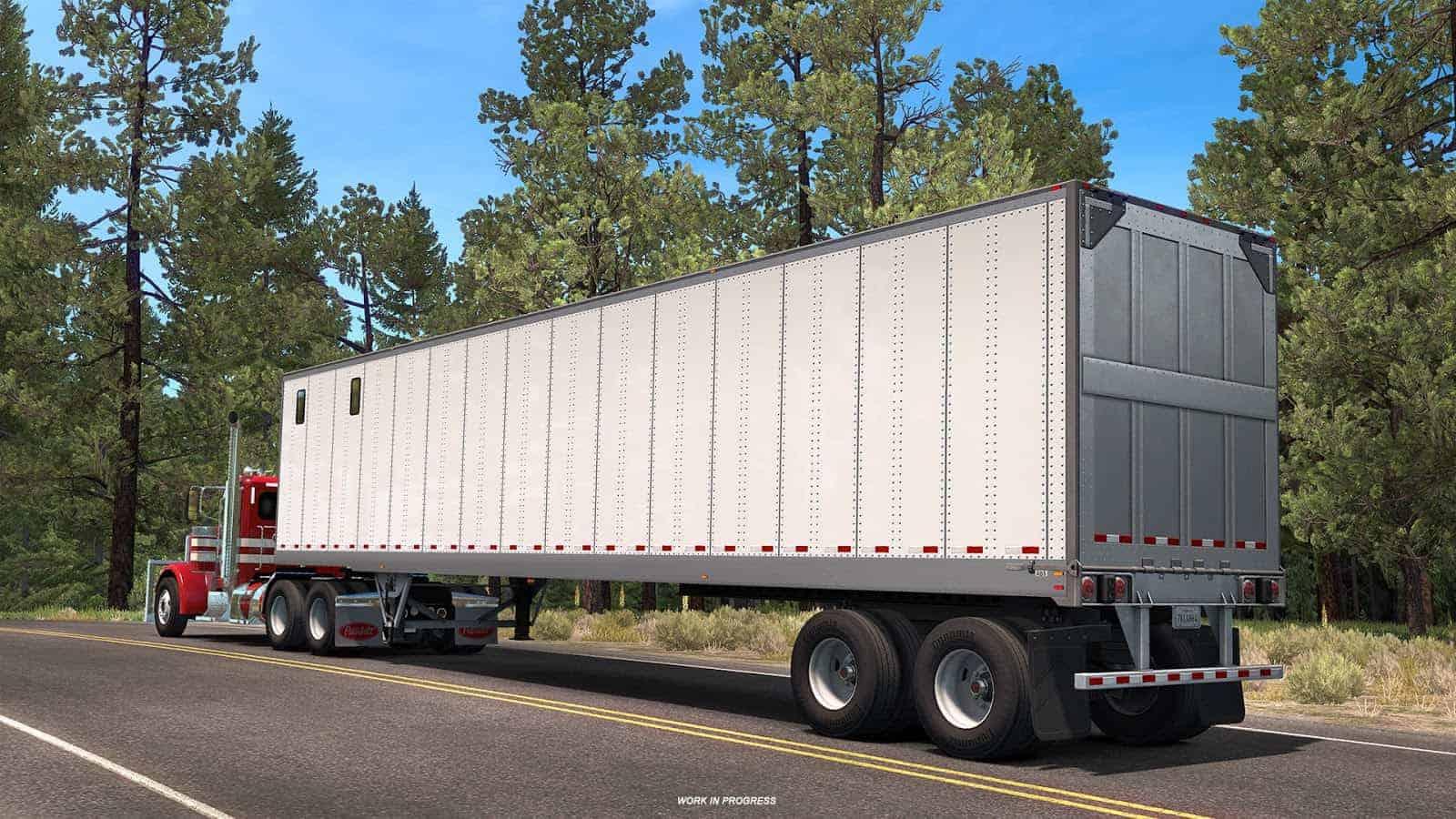 American Truck Simulator: Trailer News Part 1 ATS - American
