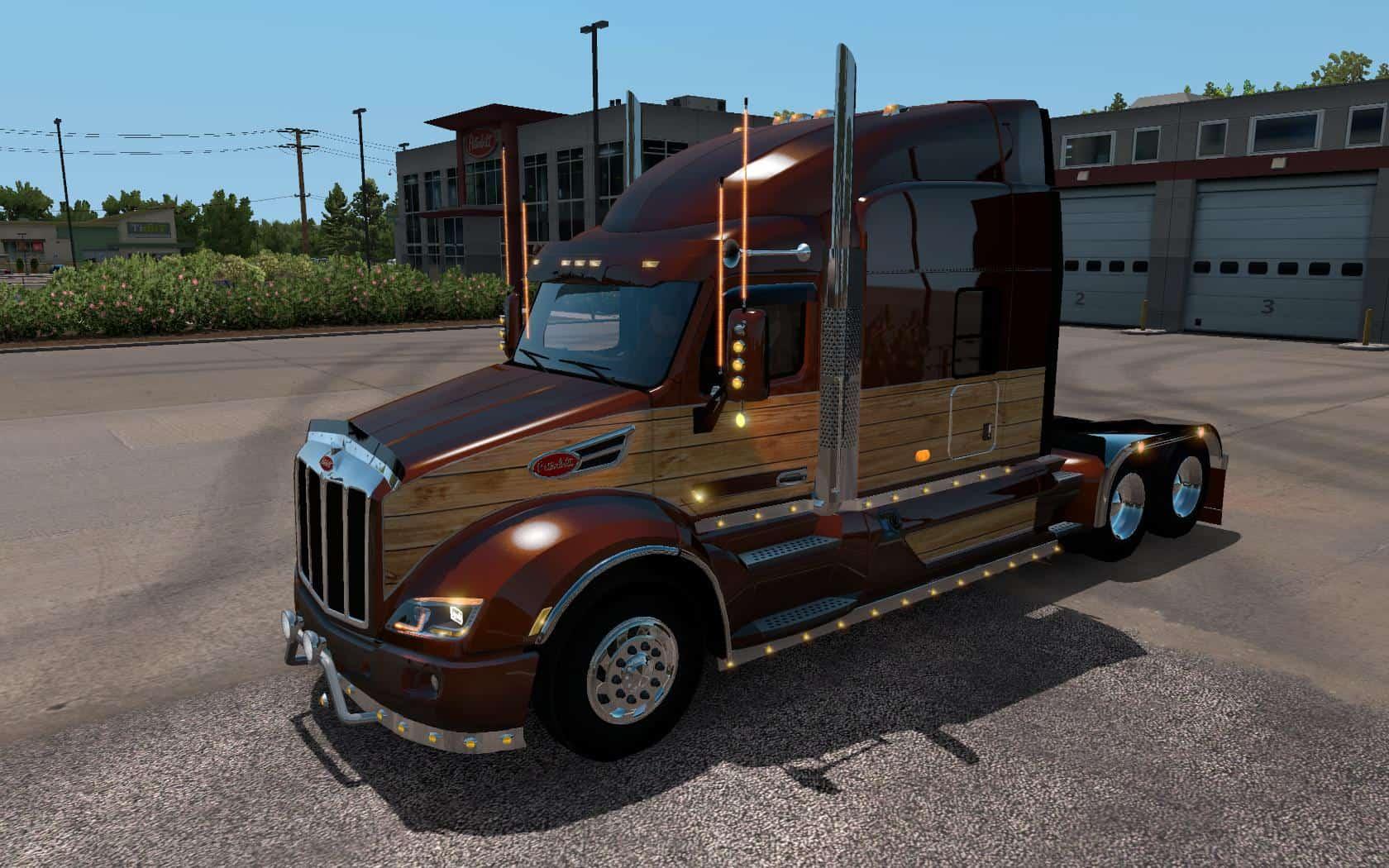 Mikes Used Cars >> Peterbilt 579 Custom 1.34.x - American Truck Simulator mod | ATS mod