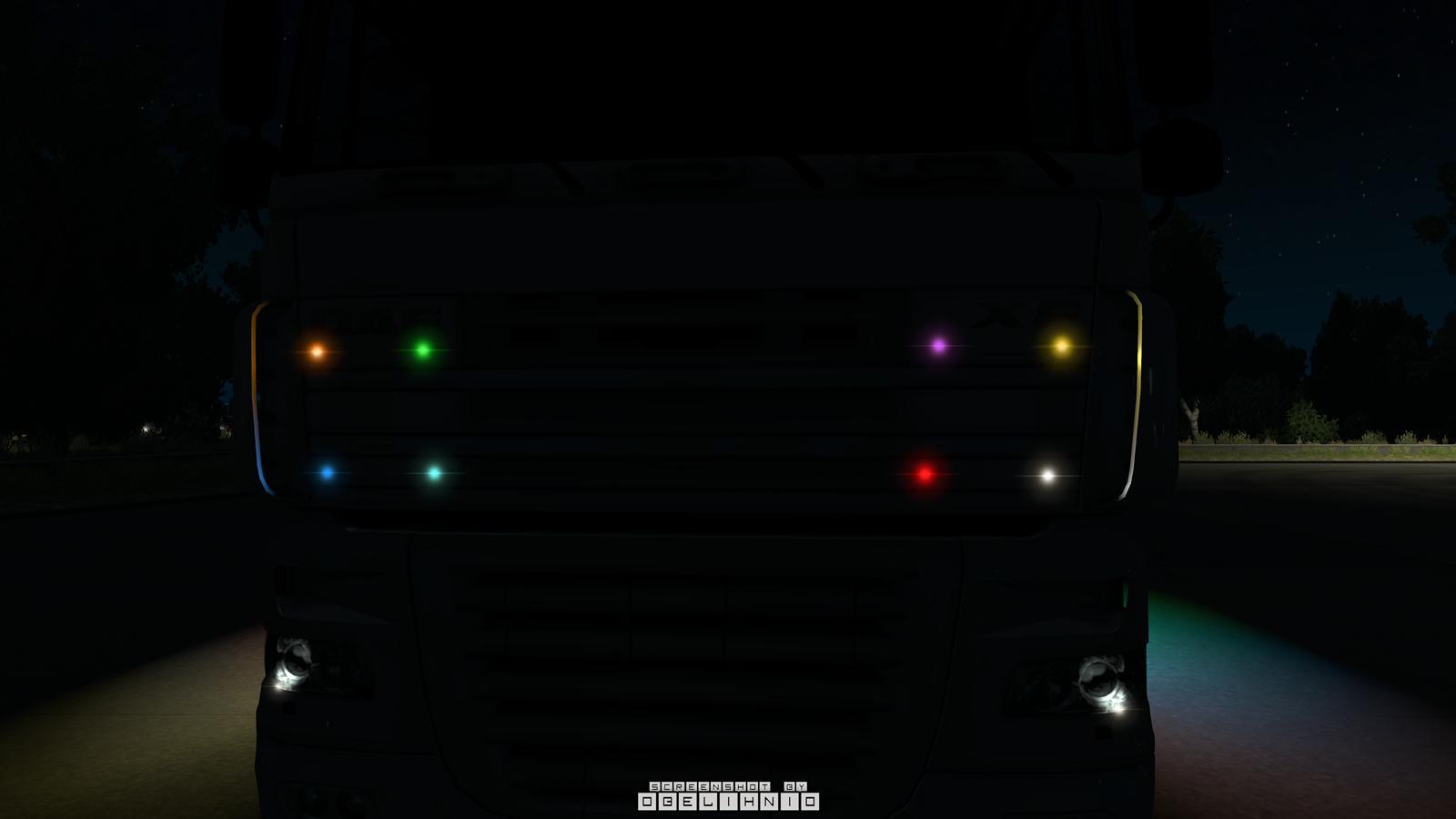 Led Strobe Lights For Trucks >> ATS Boreman LED Marker Lights Pack v1.7 1.35.x - American ...