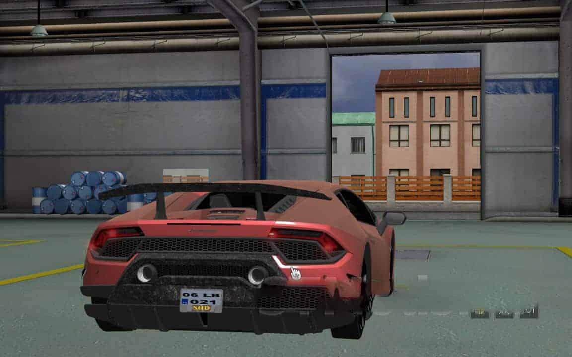 Lamborghini Huracan v1 1 Mod - American Truck Simulator mod