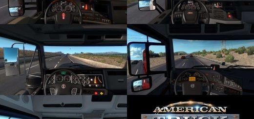 ATS Interiors mods | American Truck Simulator Interior mod download