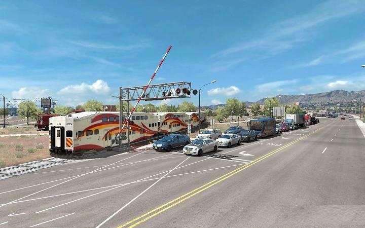 Traffic density mod for ATS 1 35 - American Truck Simulator