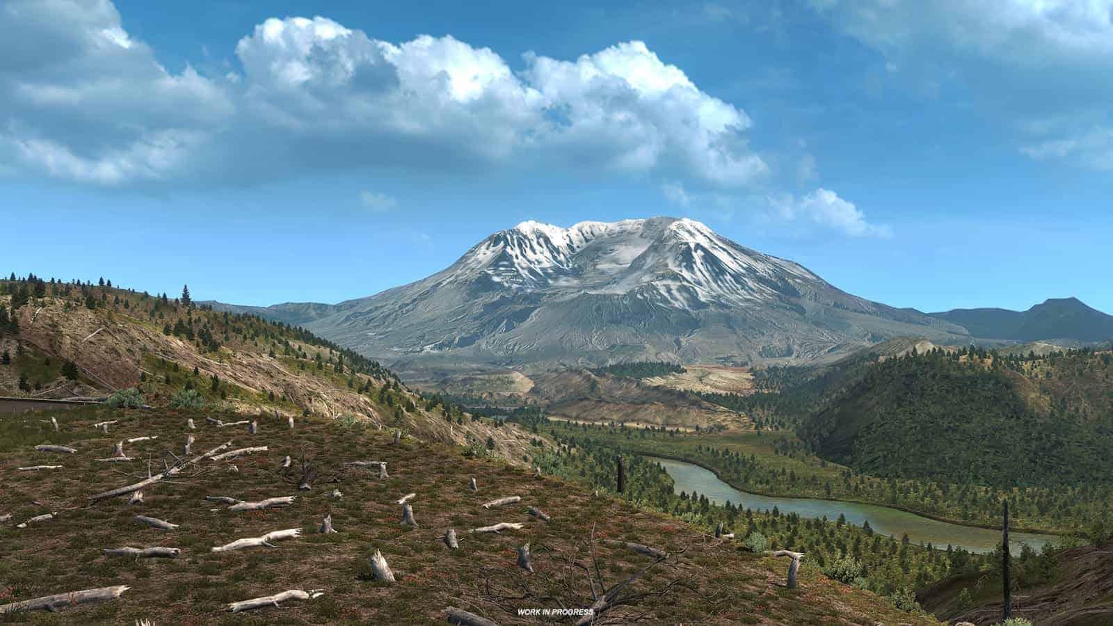 Washington: Mount St  Helens ATS - American Truck Simulator