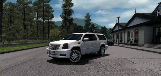 ATS Car mods | American Truck Simulator Car mod download