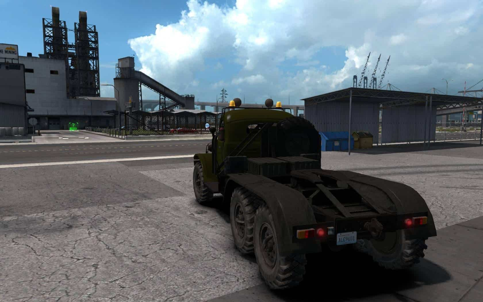 Zil 157 update for ATS 1.35.x - American Truck Simulator mod | ATS Map Usa Zil on