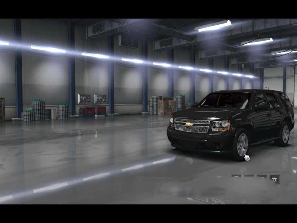 Chevrolet Tahoe 2007 Mod V1 0 Ats American Truck Simulator