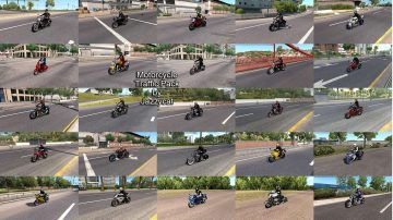 Motorcycle Traffic Pack(ATS) by Jazzycat v3.8.4 | American
